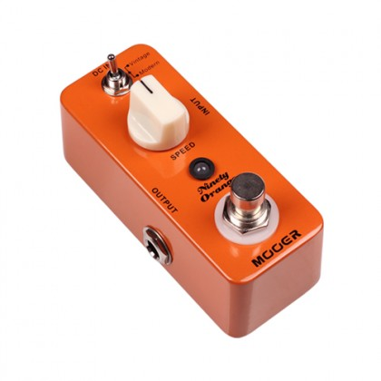 Mooer Micro NINETY ORANGE electric guitar analogue phaser pedal