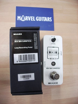 Mooer Micro LOOPER electric guitar effects pedal