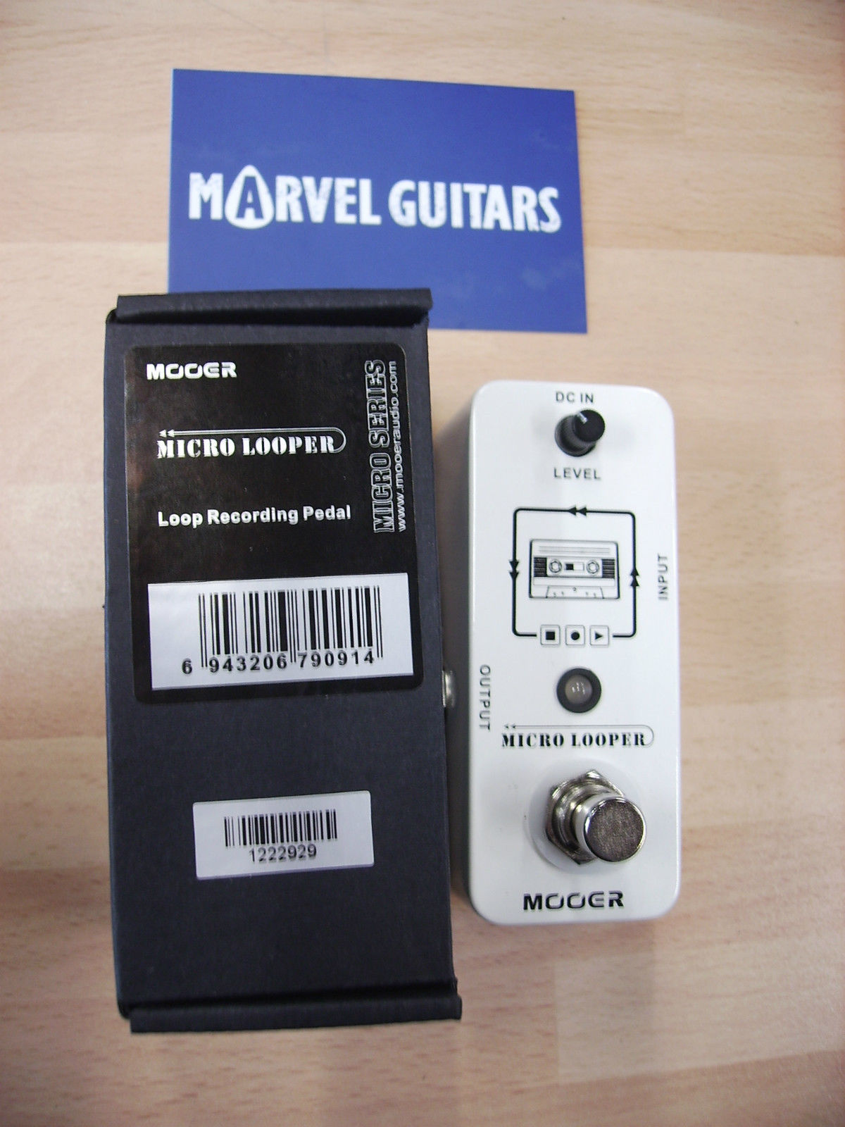 mooer micro looper electric guitar effects pedal. Black Bedroom Furniture Sets. Home Design Ideas
